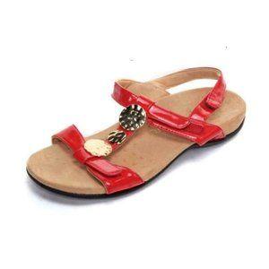VIONIC sandals FARRA slingback patent le
